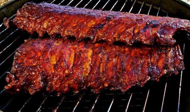 BBQ pork ribs - Grenache (Cowhorn, Applegate Valley, OR) Syrah (Curtis ...